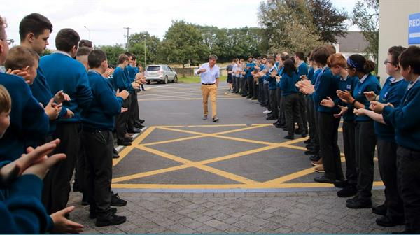 Mr O' Connor Returns to Kennedy College