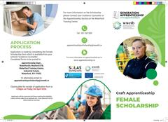 Female Scholarship in Craft Apprenticeship