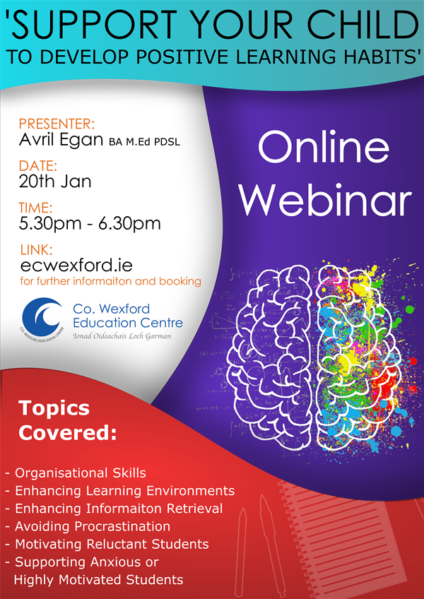 Webinar for Parents